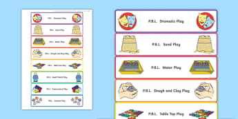 P.B.L. Organisation Drawer Labels - play-based learning, Organisation, labels, Primary 1, Primary 2, Pre-school, preschool, foundation s