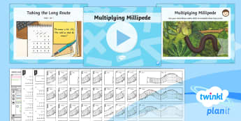 PlanIt Maths Y6 Addition, Subtraction, Multiplication and Division Lesson Pack Long Multiplication (3)