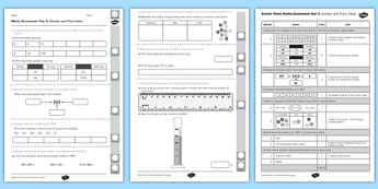 Year 3 Maths Assessment Number and Place Value Term 1- numbers, values, Autumn Term Maths Assessment