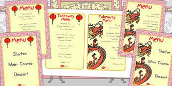 Chinese Restaurant Menus - australia, restaurant, menus, chinese
