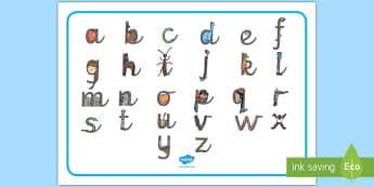 Cursive Alphabet Letter Shapes Word Mat - Cursive Alphabet Letter Shapes Word Mat - activity, guide, information, game, fun, pd, fine motor sk