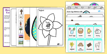 Easter Lapbook Creation Pack - easter, lapbook, creation, pack