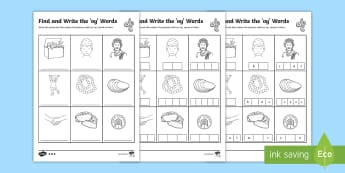 Find and Write the oy Words Differentiated Activity Sheets  - Phonics activity, phase 5, letters and sounds, oy sound, find the sound, sort the pictures, write th