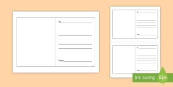 Greeting Card Insert Writing Template - greetings card, greeting writing template, ks1 writing template, writing template, message template.