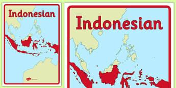 Australian Curriculum Indonesian Book Cover - topic, language, work, classroom, organisation, primary, indonesia