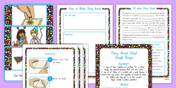 Fairy Bread Lesson Teaching Pack