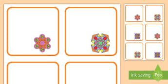 Rangoli Patterns Editable Drawer, Peg, Name Labels - Rangoli Patterns Templates - rangoli, patterns, template, templates, pattern, rangoli, drawing, colo