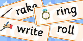 Initial r Sound Word Cards - initial r, sound, r sound, word card