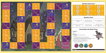 Compare and Order Numbers Broomsticks and Wands Board Game - Number and Place Value, problem solving, maths mastery, year 3, number value, y3, reasoning