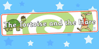 The Tortoise and The Hare Display Banner - header, story display