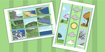 Physical Geography Display Borders - physical geography, display