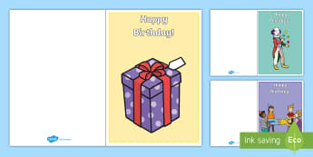 Birthday Cards - birthday, happy birthday, giving, gifts, presents, cards, making your own birthday card, creative, making cards