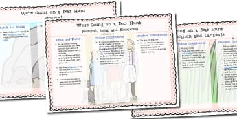 We're Going on a Bear Hunt Lesson Plan Ideas EYFS - lesson plan, EYFS