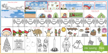 New Zealand Christmas Activity Pack - Xmas, Crafts, Busy Work, Templates, Images, Playdough Mats