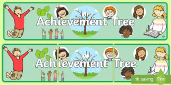 Achievement Tree Display Banner - achievement, tree, banner