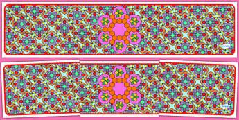 Editable Banner Diwali Pattern - editable, editable banner, diwali pattern, display, banner, display banner, display header, themed banner, editable header