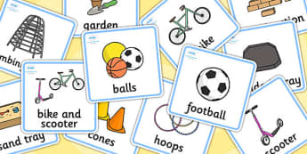 Outdoor Play Choosing Cards - Outdoor Play Choosing Cards, Choosing Cards, Outdoor Play, Outdoor Choosing Cards, Outdoor Play Cards