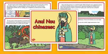 Povestea Anului Nou Chinezesc - Poveste