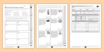 Year 3 Maths Assessment Multiplication and Division Term 1- divide, Autumn Term Maths Assessment