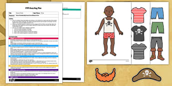 EYFS Dress a Pirate Busy Bag Plan and Resource Pack