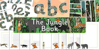 The Jungle Book Display Pack - jungle book, display pack, display