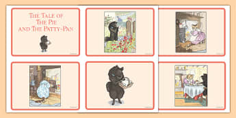 Beatrix Potter - The Tale of the Pie and the Patty-Pan Story Sequencing Cards - beatrix potter, pie, patty pan, story, sequencing, cards