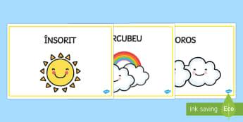 Cuvinte pentru descrierea vremii - vremea, română, vocabular, fenomene meteo, fenomenele naturii, fenomene meteorologice, stiinte, ș