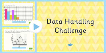 Data Handling Challenge PowerPoint - data handling, challenge, powerpoint