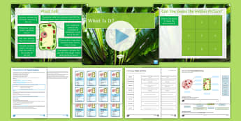AQA Unit 4.1 Animal and Plant Cells Cover Lesson Pack - Lesson plan, animal cells, plant cells, mitochondria, cytoplasm, cell membrane, nucleus