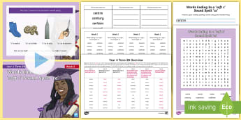 Year 4 Term 2B Week 2 Spelling Pack - Spelling Lists, Word Lists, Spring Term, List Pack, SPaG