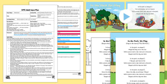 EYFS Reciting Numbers Musical Activity Adult Input Plan and Resource Pack - Mathematics, Numbers, Counting, Recites, Order, Game, Maths, Music, Dance, Early Years Planning, Adu