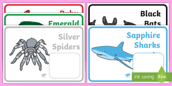 Editable Colour Wheel Animal Reading Group Display Labels - reading, reading groups, literacy, guided reading groups, labels