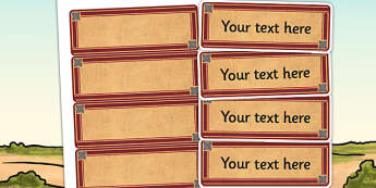 The Indus Valley Themed Editable Labels - indus valley, signs