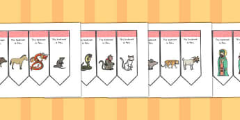 Chinese New Year Bookmarks - australia, chinese, bookmarks, year