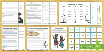 Pirate Ships Sound Story Chapter 1 Follow Up Lesson Ideas - pirates, pirate ships, what are sound stories, descriptive writing, night storm, international talk