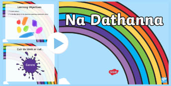 Classroom Colours Game  PowerPoint Gaeilge - Colours, Na Dathanna, Game, Gaeilge, Fun,Irish