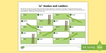 AR Sound Snakes and Ladders Activity - ar sound, sound, activity, ar, snakes and ladders, game
