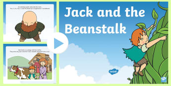 picture relating to Jack and the Beanstalk Story Printable identify Jack and the Beanstalk Functions Products