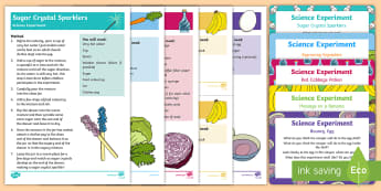 EYFS Food Science Experiments Resource Pack - food, vegetables, fruit, science, investigation, experiment, acid, alkali, Oxidization, red cabbage,