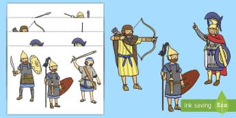 The Story of Hanukkah Stick Puppets - The Story of Hanukkah - story, hanukkah, judaism, menorah, oil, torah, judasim, hannukkah, hannuka,