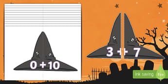 Witches' Hats Number Bonds to 10
