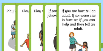Playground Rules Posters - playground, rules, rules posters