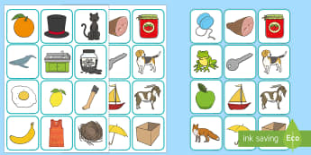 Phase 1 Odd One Out Rhyming Cards - phase 1, phase one, phases, odd one out, odd, rhyming, rhyme, cards, word cards, rhyming cards, phase rhymes, card game