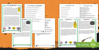 Halloween Differentiated Reading Comprehension Activity English/Hindi - Halloween, October, festival, reading comprehension, EAL