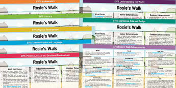EYFS Lesson Plan and Enhancement Ideas to Support Teaching on Rosie's Walk - rosies walk, lessons, EYFS, planning