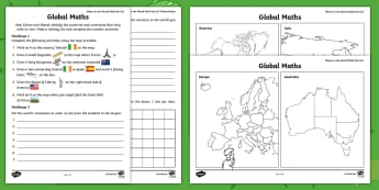 Where in the World Shall We Go? Poster Activity Sheet - worksheet, ROI, Aistear, Travel Agents, continent, country, Activity Sheet, Maths, world, map, globe