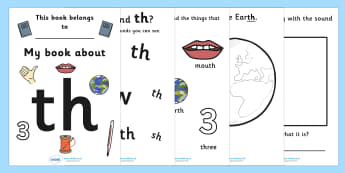 My Phase 3 Digraph Workbook (th) - Digraph Formation, Phase 3, phase three, digraphs, handwriting, letter formation, writing practice, foundation, letters, writing, learning to write, DFES letters and sounds