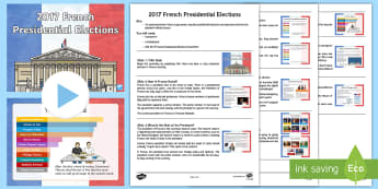 French Presidential Election Assembly Pack - French Presidential Election