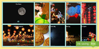 Moon Festival Photo Display Posters - Moon Festival, Festival, Mid-Autumn Festival, Mooncakes, Photos, poster, display poster, Harvest