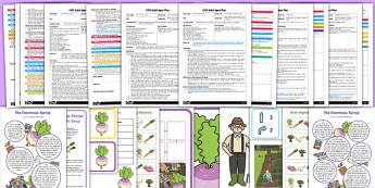EYFS The Enormous Turnip Adult Input Planning and Resource Pack-Australia